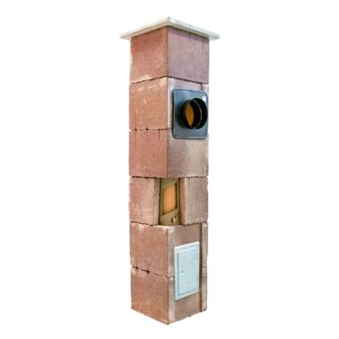 Sistem cos de fum din samota modular THERMEX 7 ml