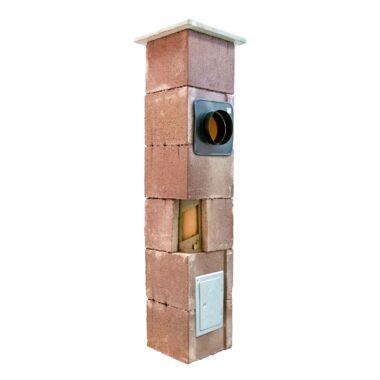 Sistem cos de fum din samota modular THERMEX 8 ml