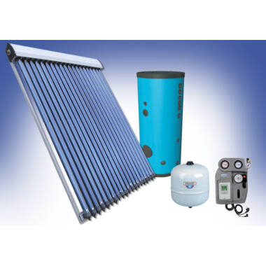 Pachet solar - preparare apa calda menajera pentru 2-3 persoane BlauTech