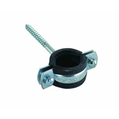 Colier tija garnitura 1/2'' + diblu plastic 10mm