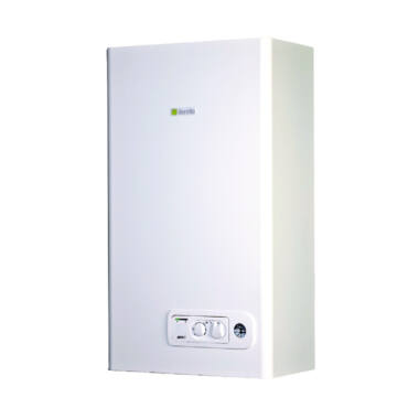 Centrala termica murala condensatie pentru incalzire si preparare acm, instant, Beretta, Junior Green 25 CSI, 25 kW