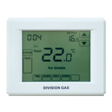 Termostat digital Touchscreen DG3000 DIVISION GAS