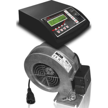 Kit contr cazan comb solid+vent insufl TECH EU-28+WPa117