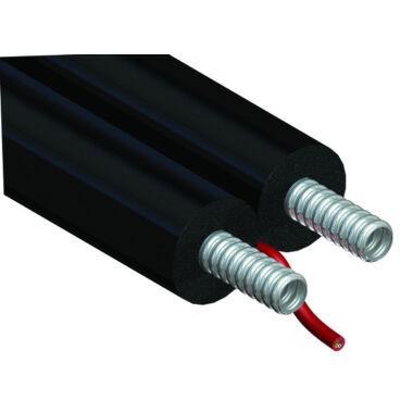 Furtun inox 1'' 25m dublu preiz. cablu elect. Eurosolar GEBO