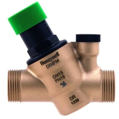 "Regulator presiune setabila HONEYWELL, D04FM-1/2A, 1/2"", 1.5-6 bar"