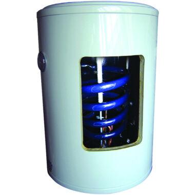 Boiler termoelectric cu serpentina si rezistenta electrica Omega, ST0100C2V, 100 l