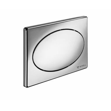Buton actionare WC oval alb SCHELL 032621299