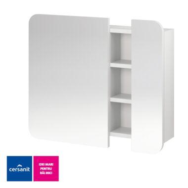 Dulap cu oglinda Pure alb S910-001 CERSANIT