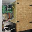 Cazan compact pe peleti gata de instalare, Kepo, 35 kW, curatare automata a arzatorului
