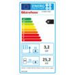 Termosemineul pe peleti pentru incalzire centrala 6.7-28.4 kW DIADEMA IDRO EXTRAFLAME