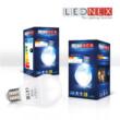 Bec LED, Lednex, forma clasica, E27, 7W, 560 lumen, 20000 de ore, lumina calda, ideal pentru dormitor