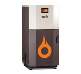 cazan_compact_pe_peleti_gata_de_instalare_kepo_25_kW_curatare_manuala_a_arzatorului