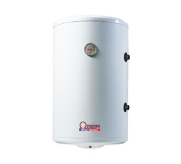 Boiler termoelectric cu serpentina si rezistenta electrica Omega, ST0120C2V800, 120 l, rezervor emailat