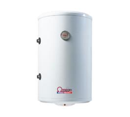 Boiler termoelectric cu serpentina si rezistenta electrica Omega, ST0100C2V800SX, 100 l, rezervor emailat, stanga