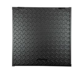 Capac camin 600 x 600 mm, negru
