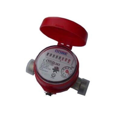 """Contor de apa calda monojet cu mecanism uscat, 1/2"""", interior, GOBE"""