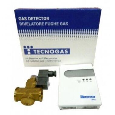 Detector gaz cu electrovana alama 3/4'' TECNOGAS CD 64 ITALIA