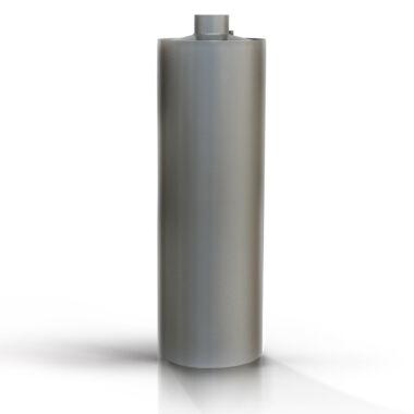 Boiler de baie pe lemne, 95 l, din tabla vopsita de 3 mm, Mol Metal