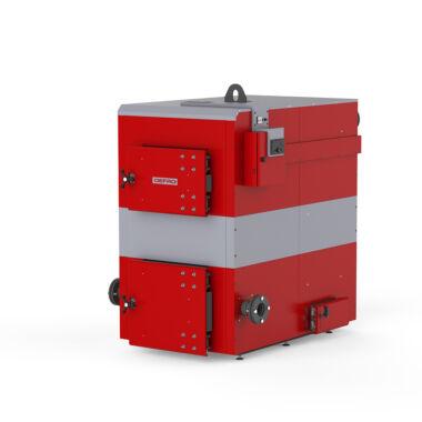 Cazan pe lemn din otel Defro Optima Plus Max 100 kW