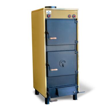 Cazan pe lemn din otel Hajdu, 40 kW, grosimea tablei 5 mm