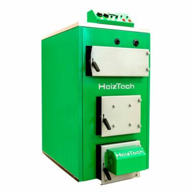 Cazan pe lemn din otel SP150PR, 150 kW, HeizTech, cu ventilator