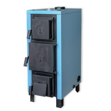 Cazan pe lemn din tabla otel, HeizTech Basic,  27 kW