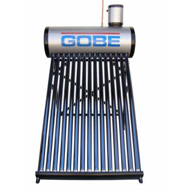 Panoul solar cu 20 tuburi vidate pentru preparare apa calda menajera cu rezervor nepresurizat 200 litri GOBE