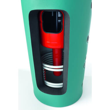 Rezervor de acumulare tank in tank, LAM Bollitori, Sigma, 1500 l, izolat, cu boiler incorporat 205 l