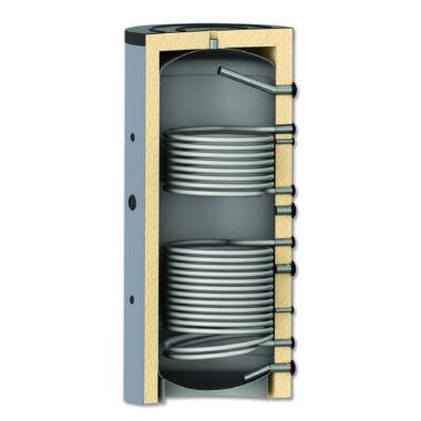 Rezervor de acumulare cu 2 serpentine Aquastic, AQPTC21000, 1000 l, izolat