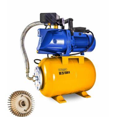 Hidrofor cu rotor bronz 24 l ELPUMPS VB25/1500b, 1500 W, 6300 l/h