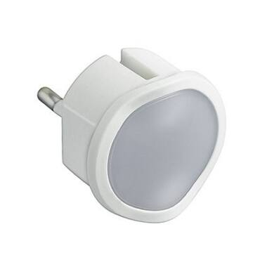 Lampa de veghe cu senzor de lumina si cu variator,Legrand, 050676, alb