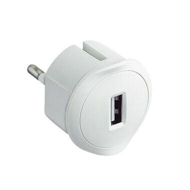 Incarcator telefon USB, 1.5A, Legrand, 050680, alb
