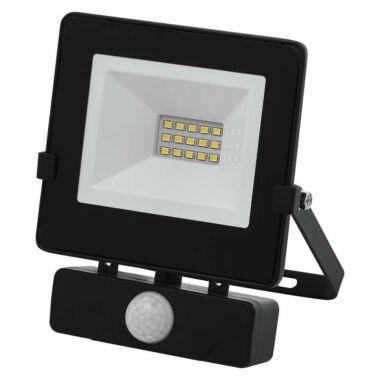 Proiector LED Slim cu senzor de miscare, 10W, IP65, negru, 30000 ore, 6500 K, rece