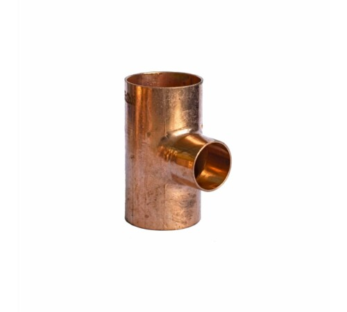 Teu redus cupru, 22-18-18 mm, pentru imbinare prin sudura, HeizTech