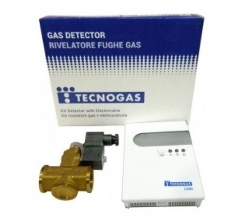 detector_gaz_cu_electrovana_alama_3/4_tecnogas_cd_64_italia