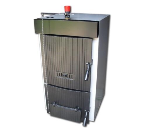 Cazan pe lemn din fonta Dunatech Plus, 33 kW, 6 elementi