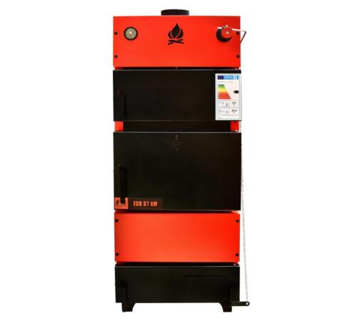 Cazan tabla otel 37 kW ECO combustibil solid/brichete FM