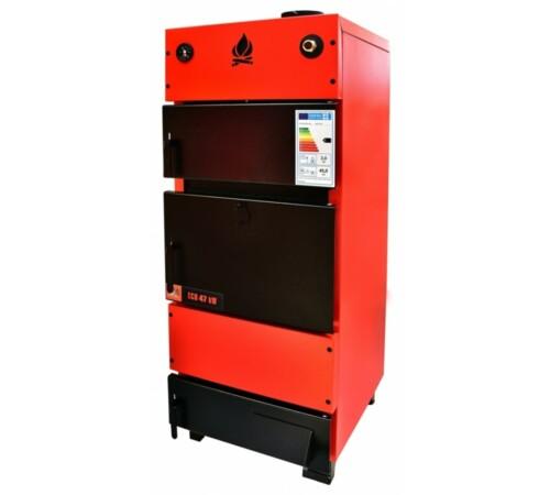 Cazan tabla otel 47 kW ECO combustibil solid/brichete FM