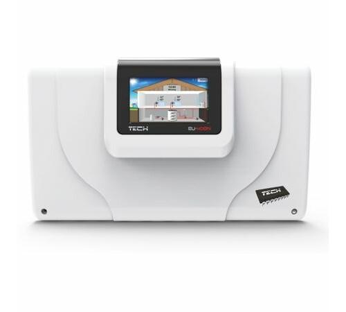 Controler cu posibilitate de conectare la doua surse de caldura TECH EU-408 n