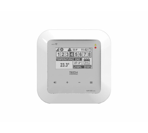 Modul/termostat EU-WiFi 8S mini+senzor wireless EU-C-mini