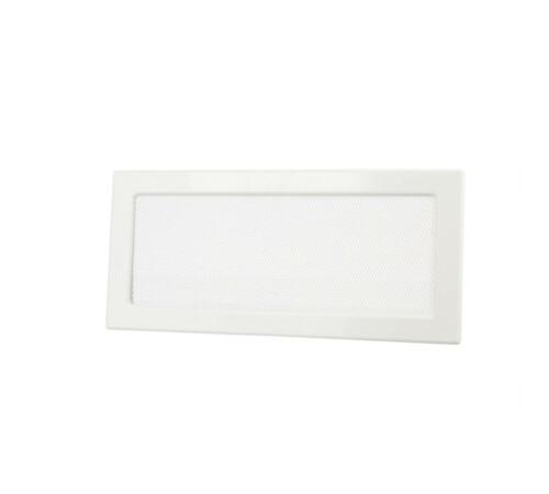 Suport grila aerisire din aluminiu, alb 17 x 50 cm