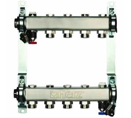 set-distribuitor-inox-compact-4-cai-pentru-incalzire-herz-1863404-cu-intrare-1-cu-iesiri-3/4