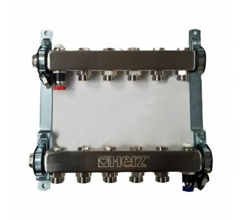 set-distribuitor-inox-compact-5-cai-pentru-incalzire-herz-1863405-cu-intrare-1-cu-iesiri-3/4
