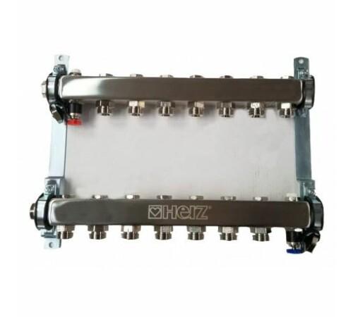 set-distribuitor-inox-compact-9-cai-pentru-incalzire-herz-1863409-cu-intrare-1-cu-iesiri-3/4