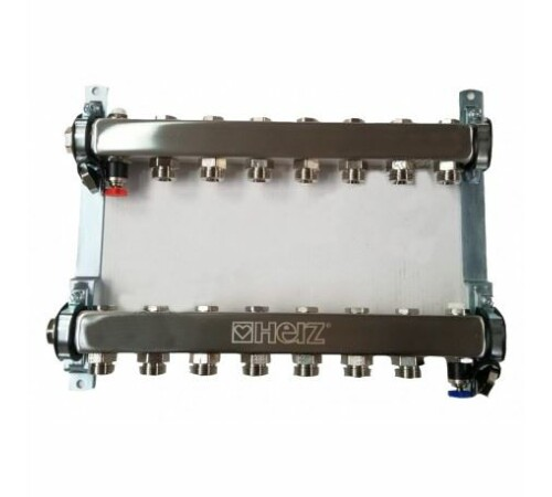 set-distribuitor-inox-compact-11-cai-pentru-incalzire-herz-1863411-cu-intrare-1-cu-iesiri-3/4
