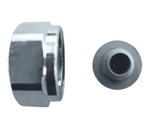 "Conector pentru tevi metalice 3/4"" cu garnitura metalica, 15 mm, HERZ 1627403"