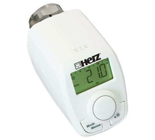 Cap termostatic programabil, cu afisaj digital, M 28 x 1.5, HERZ 1825010