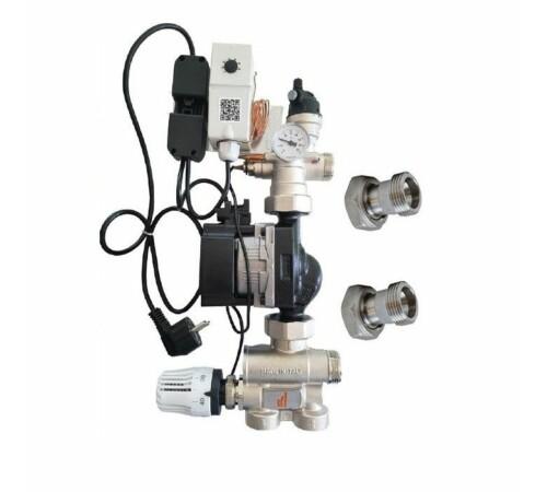 Unitate reglare temperatura ECO 2 PURMO, cu pompa Grundfos UPM3