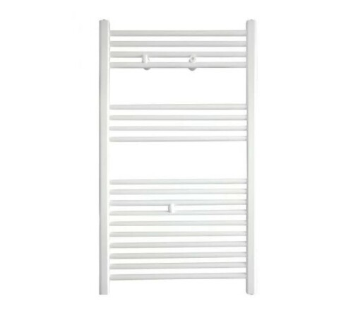 Radiator de baie port-prosop, 400 x 1222, 370 W, alb, drept, Banga, Purmo