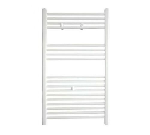 Radiator de baie port-prosop, 600 x 862, 427 W, alb, drept, Banga, Purmo